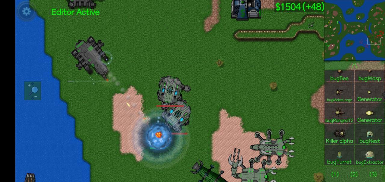 分享铁锈战争国外优质mod,特效超棒的